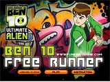 Ben 10 Ultimate Alien: Ben 10 Free Runner