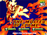Ben 10 Protector of Earth: The Master of Flame