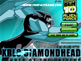 Ben 10 Alien Force: Xrl8 Diamondhead Runner of the Universe