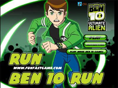 Run Ben 10 Run