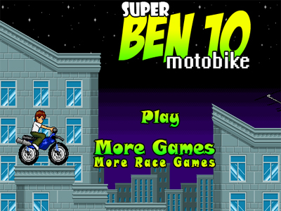 Super Ben 10 Moto Bike