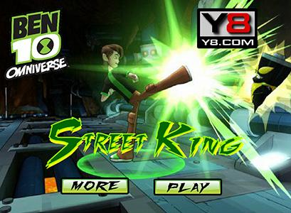 Juegos de Ben 10 omniverse: Street King